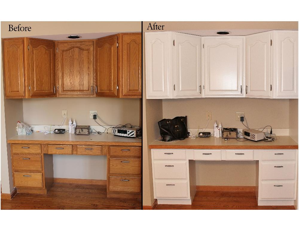 Kitchen Cabinets Painted White Before And After Exquisite Delightful. Guy Painting  Cabinet Paintingcabinet Painting Guy Painting