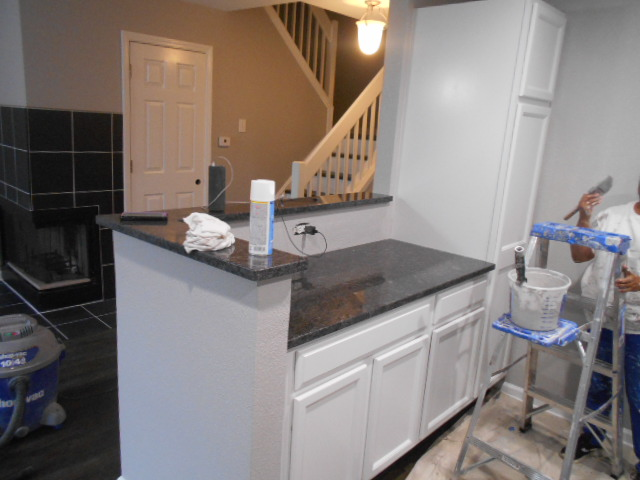 Painting Oak Cabinets After