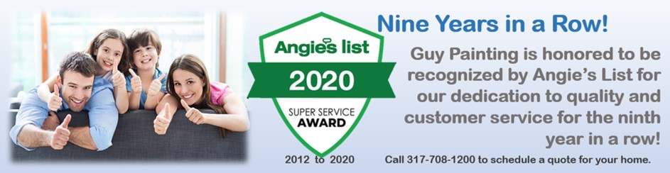 Guy Painting 2020 Angie's List Award Winner